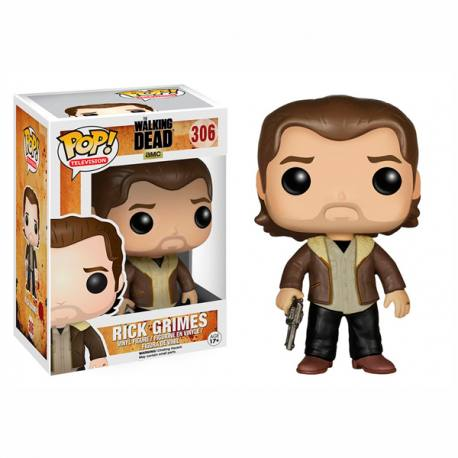 Figura Pop Walking Dead Rick Grimes