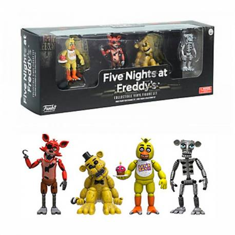 Las 5 Noches con Freddy - Set de Figuras