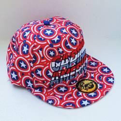 Gorra Capitán América Escudos