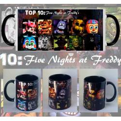 Taza Five Nights at Freddys Personajes