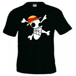 Camiseta One Piece bandera Luffy 1989 draw