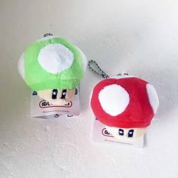 Llaveros Seta Super Mario Bros Peluche
