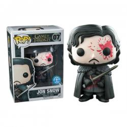 Game of Thrones Figura Pop Jon Snow - Exclusiva