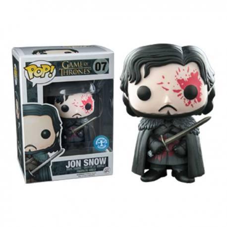 Game of Thrones Figura Pop Jon Snow - Exclusiva