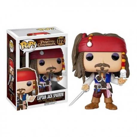 Figura Pop Piratas del Caribe Jack Sparrow