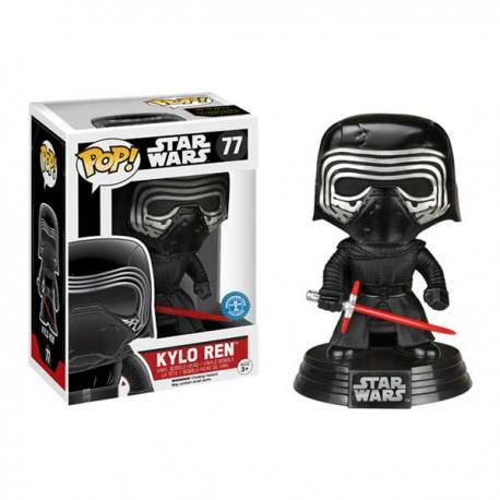 Figura Funko Pop Star Wars Kylo Ren - Exclusiva