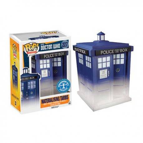 Doctor Who Funko Pop Materialising Tardis - Exclusiva