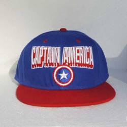 Capitan America Gorra Bordada