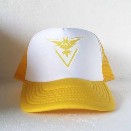 Gorra Pokemon Go Equipo Amarillo - Instinto