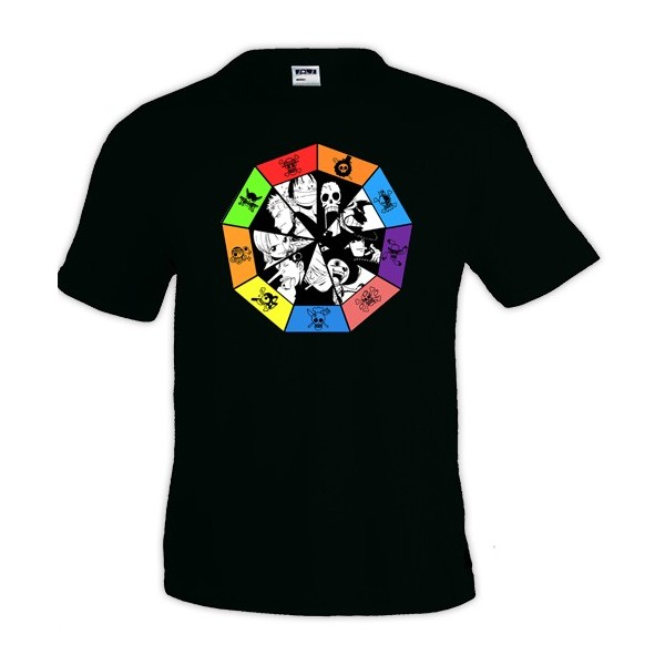 Camiseta One Piece Ruleta