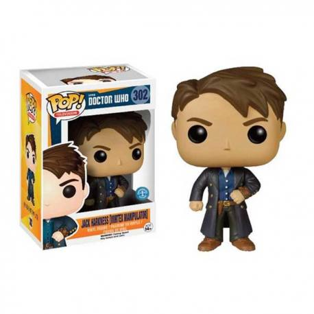 Doctor Who Figura Funko Pop Jack Harkness - Exclusiva