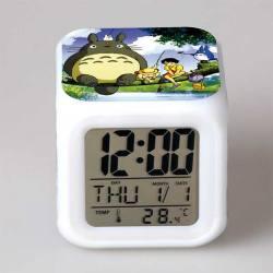 Totoro - Reloj Despertador Multicolor