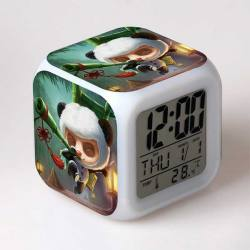 Reloj Despertador Multicolor League of Legends