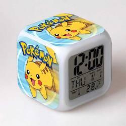 Pokemon - Reloj Despertador Multicolor Pikachu