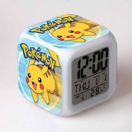 Pokemon - Reloj Despertador Multicolor