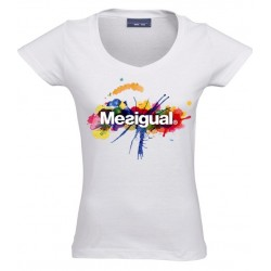 Camiseta divertida Mesigual de chica