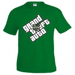 Camiseta Grand Theft Auto 5 - logo diagonal