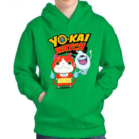 Sudadera Yo-Kai Watch Jibanyan y Whisper