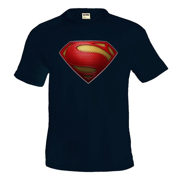 Camiseta Superman logo 2013 Classic-custom Man of steel