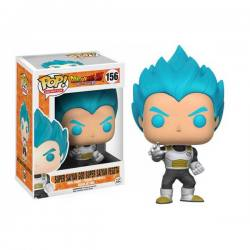 Funko Pop Dragón Ball Vegeta Super Saiyan Dios Pelo Azul