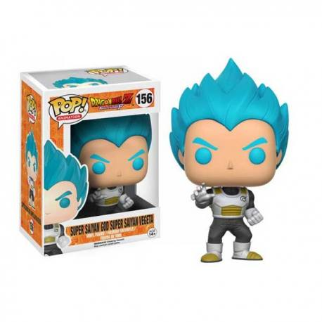 Funko Pop Dragón Ball Vegeta Super Saiyan Dios Azul