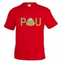 Camiseta POU infantil - Logo custom