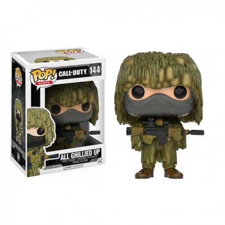 Figura Funko Pop Call of Duty Ghillied Up 144