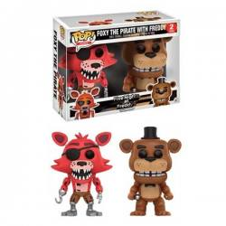 Figuras Funko Pop Five Nights at Freddy's Foxy y Freddy