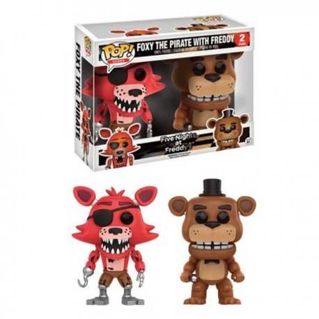 Figuras Funko Pop Five Nights at Freddy's Foxy y Freddy