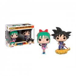 Figuras Funko Pop Dragon Ball Bulma & Goku Flying Nimbus