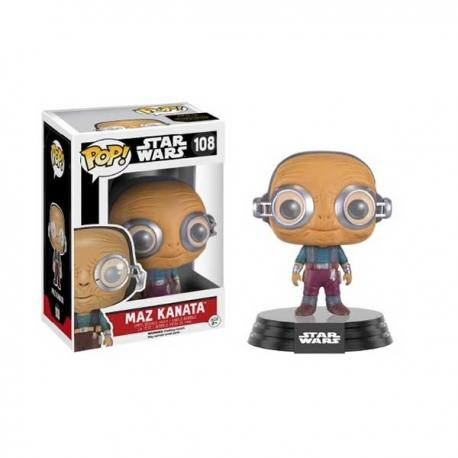 Figura Funko Pop Star Wars Episodio 7 Maz Kanata