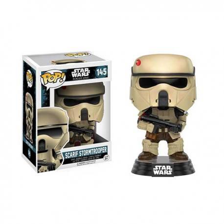 Figura Funko Pop Star Wars Rogue One Scarif Stormtrooper