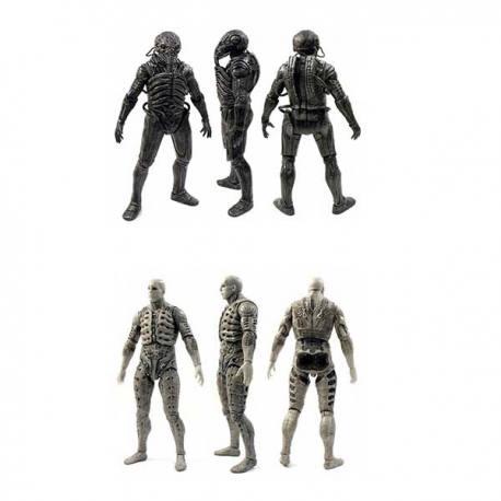 Set de Figuras Prometheus Engineer - Chair Suit & Pressure Suit