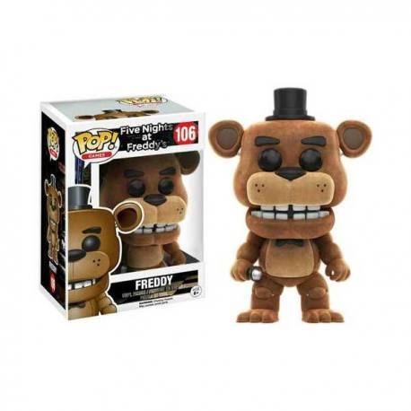 Figura Funko Pop Five Nights at Freddy's Freddy Flocked - Exclusiva