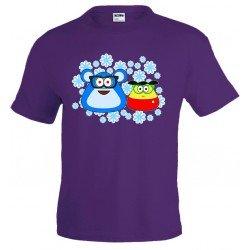 Camiseta POU - Nieve