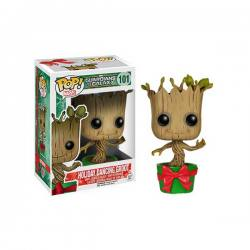 Funko Pop Guardianes de la Galaxia Holiday Dancing Groot