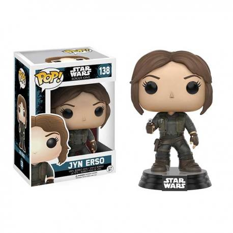 Figura Pop Star Wars Rogue One Jyn Erso - Funko