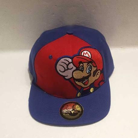 Gorra Plana Super Mario Bros
