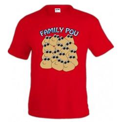 Camiseta POU - Family