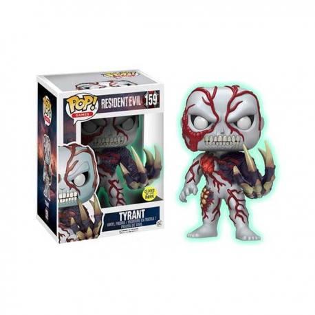 Figura Funko Pop Resident Evil Tyrant - Brilla en la Oscuridad