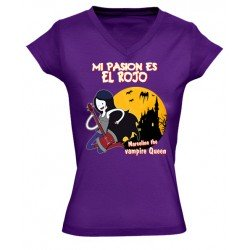 Camiseta hora de aventuras de chica - Marceline reina vampira