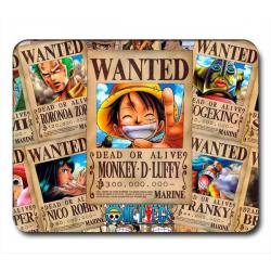 Alfombrilla One Piece Wanted