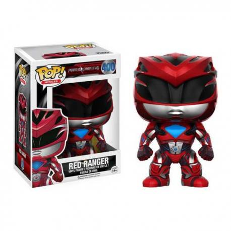 Figura Funko Pop Power Rangers Ranger Rojo