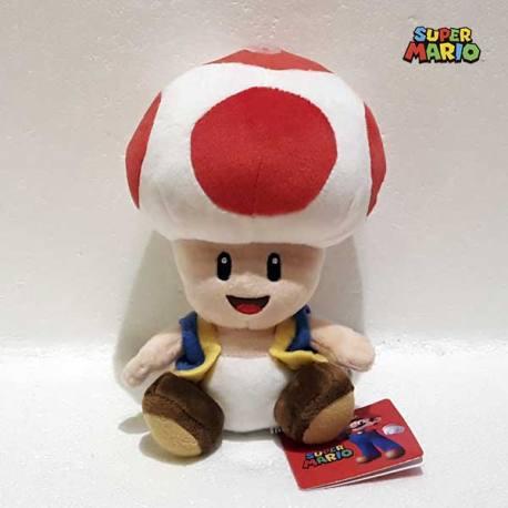 Peluche Super Mario Toad