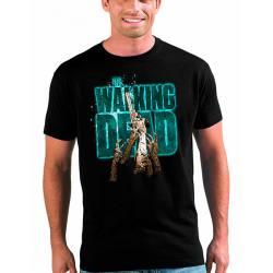 Camiseta Walking Dead Manos