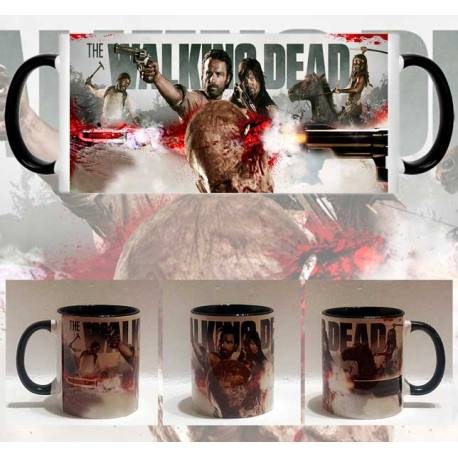 Taza Walking Dead Disparo Zombi