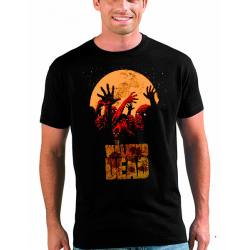 Camiseta Walking Dead Zombis