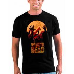 Camiseta Walking Dead Zombis