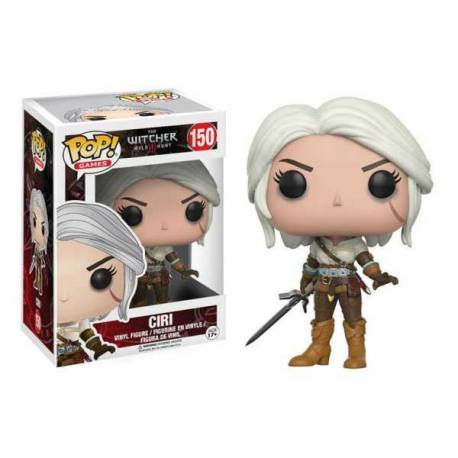 Figura Funko Pop The Witcher 3 Wild Hunt Ciri