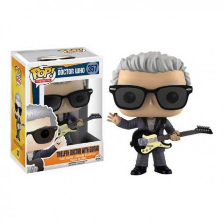 Figura Funko Pop Doctor Who 12Th Doctor With Guitar
